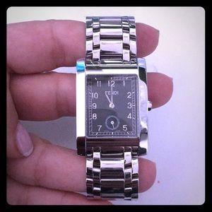 Fendi stainless steel watch
